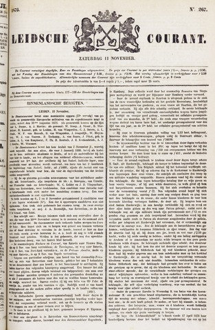 Leydse Courant 1876-11-11