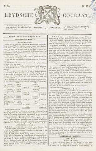 Leydse Courant 1855-11-14