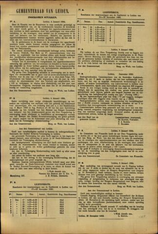 Handelingen van de Raad 1894-01-04