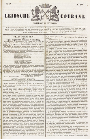 Leydse Courant 1869-11-20