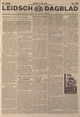 Leidsch Dagblad 1942-05-29