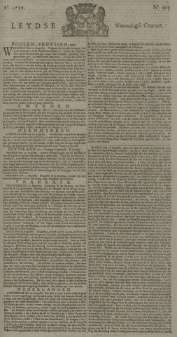 Leydse Courant 1739-09-02