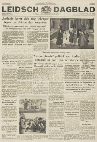 Leidsch Dagblad 1956-11-28
