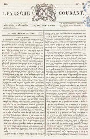 Leydse Courant 1846-12-25
