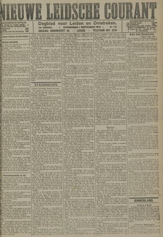 Nieuwe Leidsche Courant 1921-09-01
