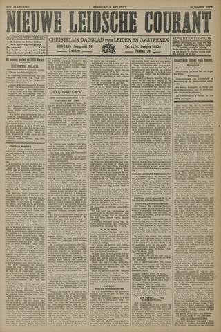 Nieuwe Leidsche Courant 1927-05-09