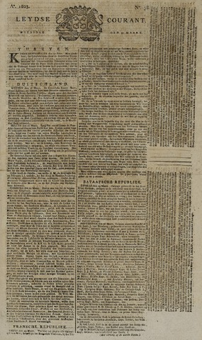 Leydse Courant 1803-03-30
