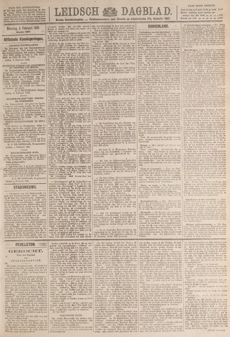 Leidsch Dagblad 1919-02-03