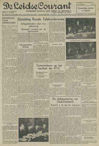 Leidse Courant 1949-11-03