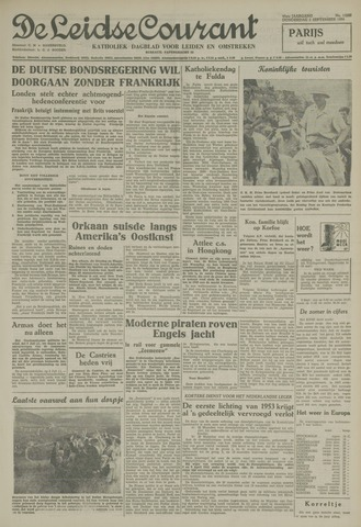 Leidse Courant 1954-09-02