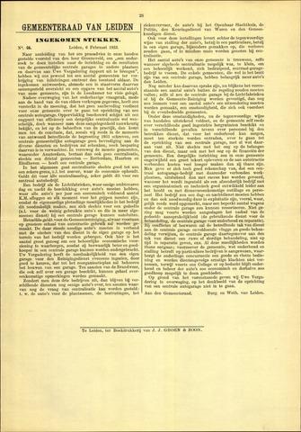 Handelingen van de Raad 1933-02-06