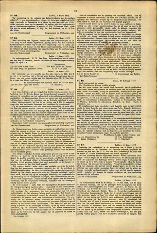 Handelingen van de Raad 1877-03-07