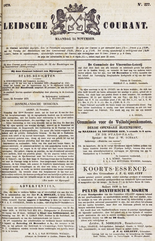 Leydse Courant 1879-11-24