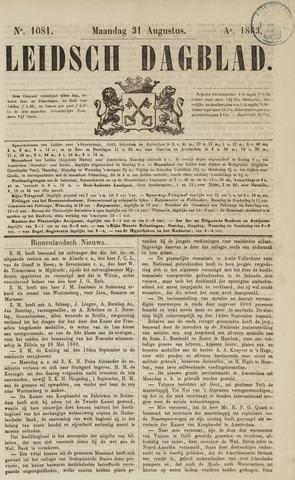 Leidsch Dagblad 1863-08-31
