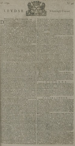Leydse Courant 1734-08-11