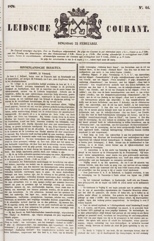 Leydse Courant 1876-02-22