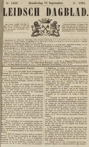 Leidsch Dagblad 1864-09-15