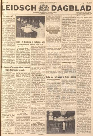 Leidsch Dagblad 1949-11-26