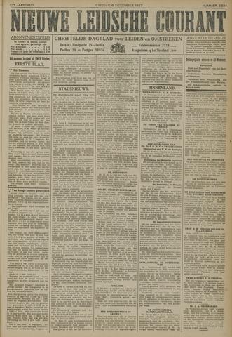 Nieuwe Leidsche Courant 1927-12-06
