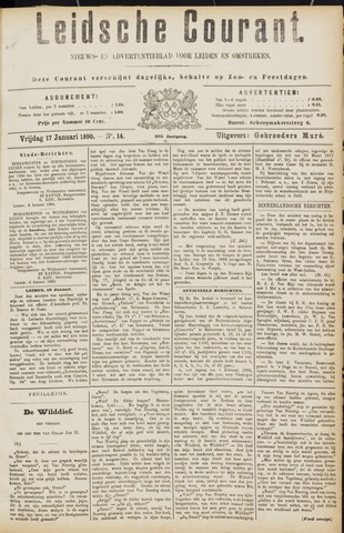 Leydse Courant 1890-01-17