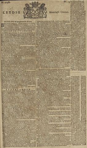 Leydse Courant 1758-02-13
