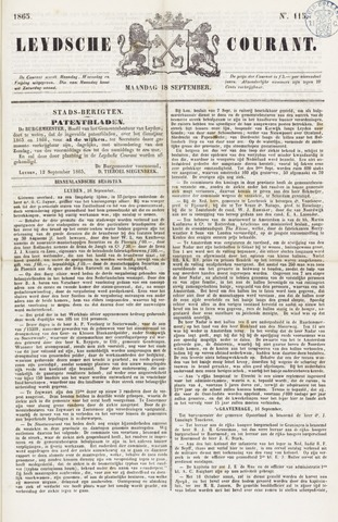 Leydse Courant 1865-09-18