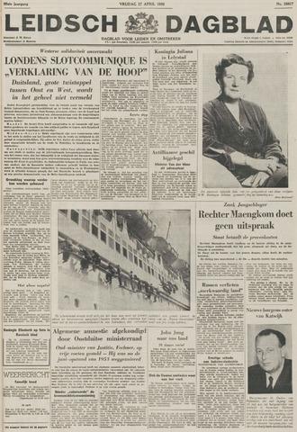 Leidsch Dagblad 1956-04-27