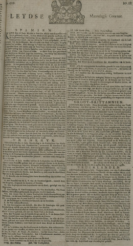 Leydse Courant 1729-07-25