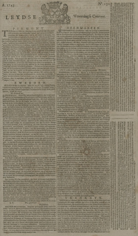 Leydse Courant 1743-10-30