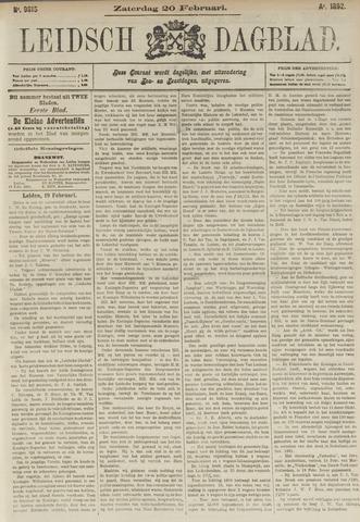 Leidsch Dagblad 1892-02-20