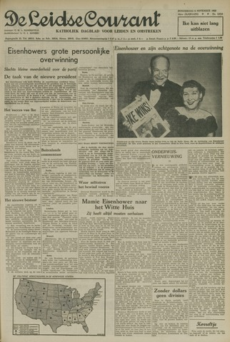 Leidse Courant 1952-11-06
