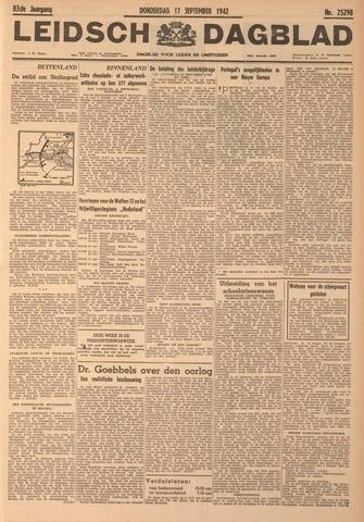 Leidsch Dagblad 1942-09-17