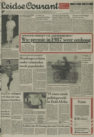 Leidse Courant 1985-09-06