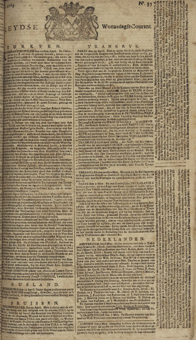 Leydse Courant 1765-05-08