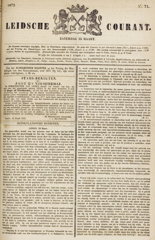 Leydse Courant 1872-03-23