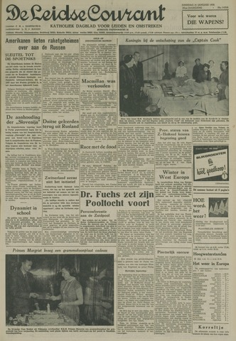 Leidse Courant 1958-01-21