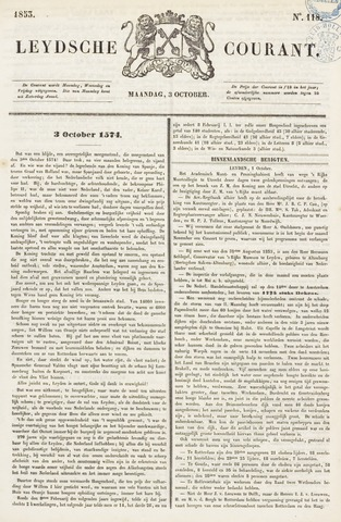 Leydse Courant 1853-10-03