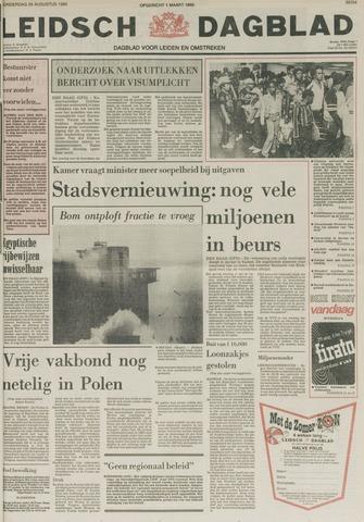 Leidsch Dagblad 1980-08-28