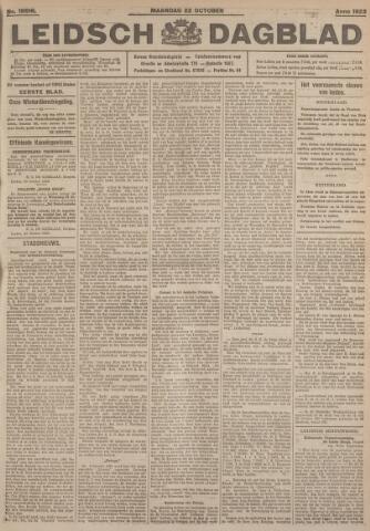 Leidsch Dagblad 1923-10-22