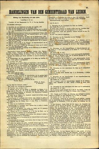 Handelingen van de Raad 1875-07-15