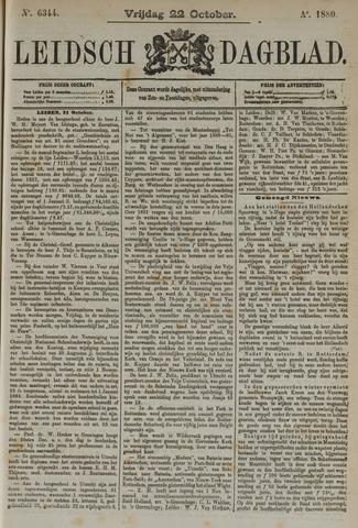 Leidsch Dagblad 1880-10-22