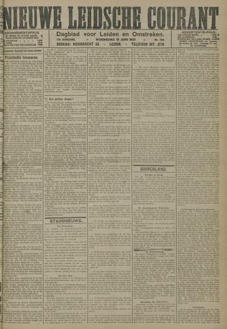 Nieuwe Leidsche Courant 1921-06-15