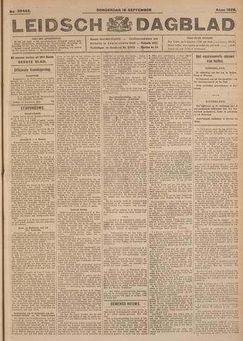 Leidsch Dagblad 1926-09-16