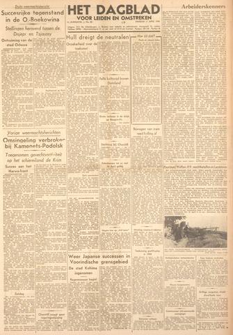 Dagblad voor Leiden en Omstreken 1944-04-11