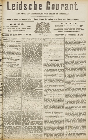 Leydse Courant 1890-04-26