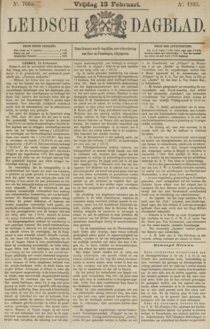 Leidsch Dagblad 1885-02-13