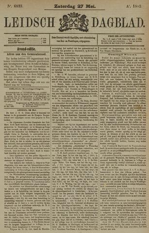 Leidsch Dagblad 1882-05-27
