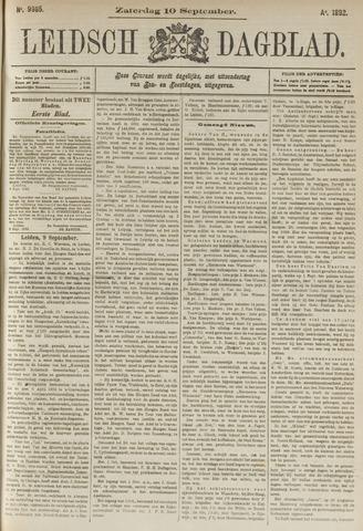 Leidsch Dagblad 1892-09-10