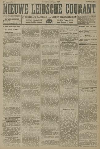Nieuwe Leidsche Courant 1927-07-13