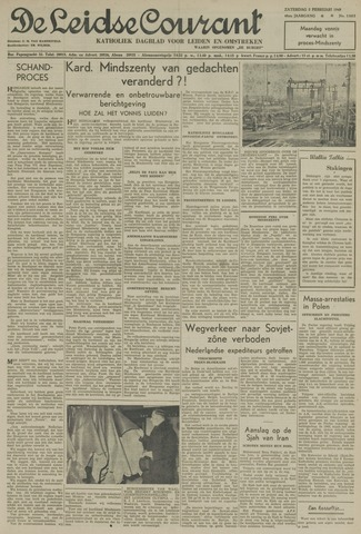 Leidse Courant 1949-02-05